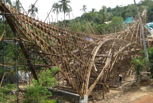 Bamboo Bridge Thailand