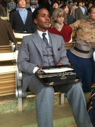 Bessemers Andre Holland comes home to play key role in Jackie Robinson film 42. Also cast in upcoming NBC show 1600 Penn.