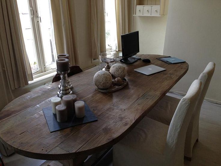 Tafel oud hout