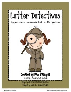 letter detectives printable a z letter searches. Black Bedroom Furniture Sets. Home Design Ideas