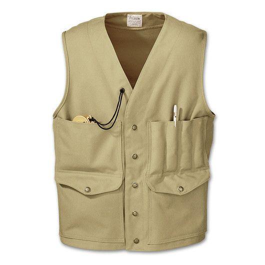 www.Filson.com | Tin Cruiser Vest | Filson Classics ...
