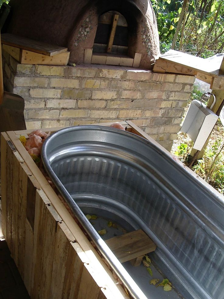 80 best wood fired hot tubs images on pinterest hot tubs for Build your own sauna cheap