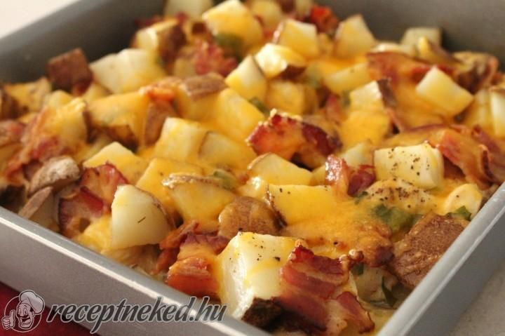 Csirkés rakott krumpli recept | Receptneked.hu (olcso-receptek.hu)