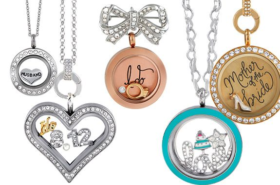 Origami Owl Bridal Collection Lockets Plates - 5 Reasons to Be Excited about the NEW Origami Owl Fall Collection #bridaljewelry #weddingparty