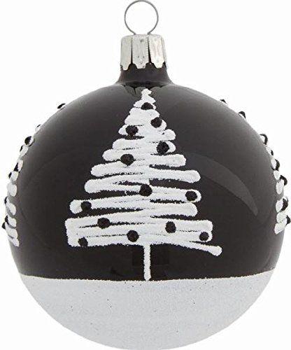 27 besten weihnachtskugeln bilder auf pinterest weihnachten weihnachtsschmuck und - Weihnachtsbaumkugeln schwarz ...