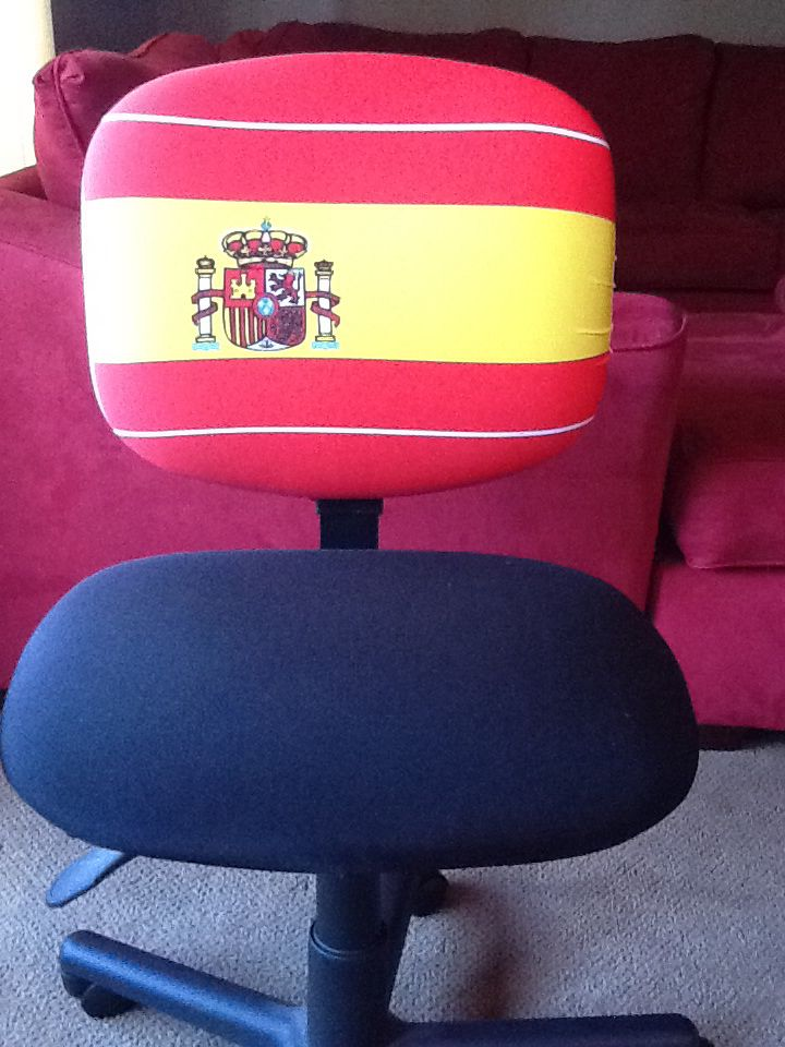 7 Best Images About FLAGS Office Chair Cover On Pinterest
