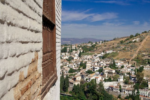Alhabra, Granada, Spain - the view