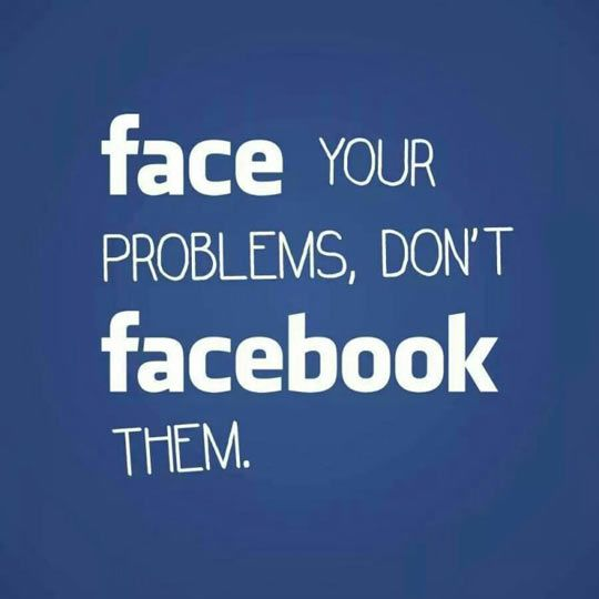"Just A Little Piece Of Advice. Not ""a little"" - its a great advise. I hate Facebook! I miss primitive old MSN and Yahoo chat rooms - so sweet!"
