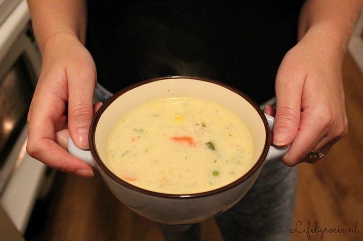 RECEPT: Gezonde én gebonden kip/groente soep! | Life By Rosie | Bloglovin