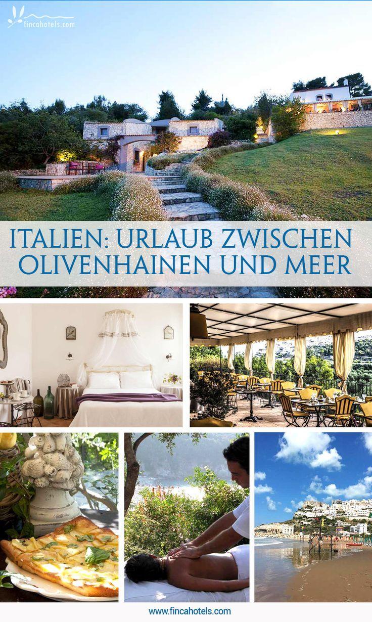 Urlaub Zwischen Olivenhainen Und Dem Meer Das Bietet Das Romantische Landhot Ferien Reise Hochzeiten Dekoration Urlaub Romantikreisen Apulien