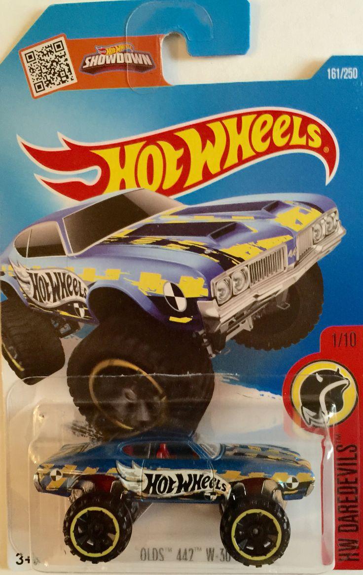 Hw hot wheels 2015 hw city 48 250 canyon carver police motorcycle - 2016 Edition Hot Wheels 70 Olds 442 Baja Ralleye Race Car