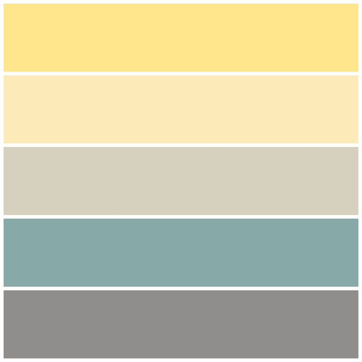 Gray Teal And Yellow Color Scheme Decor Inspiration: Jim & Sarah's Paint Colors, Income Property, HGTV