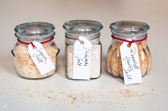 Simple Handmade Gifts – Part Six  Homemade Flavored Salt.
