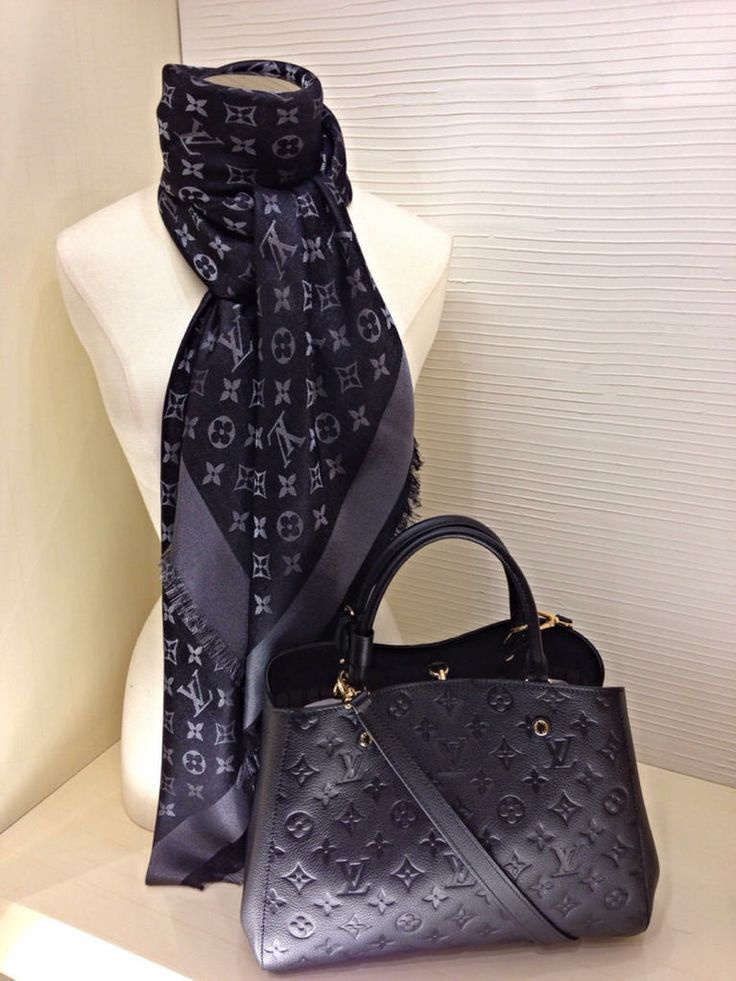 LV SCARF & purse