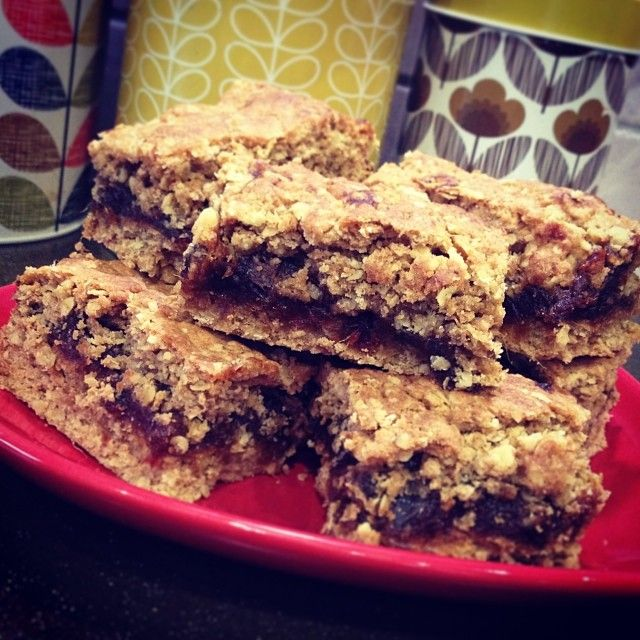 Oaty date slices by Tales from the Farmhouse. Perfect for lunchboxes.