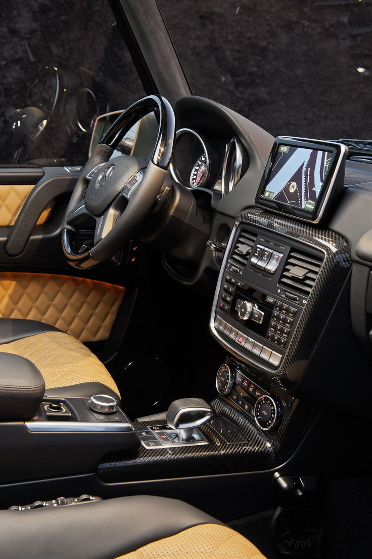 gsquad mercedes benz g class g65 amg - G Wagon Interior