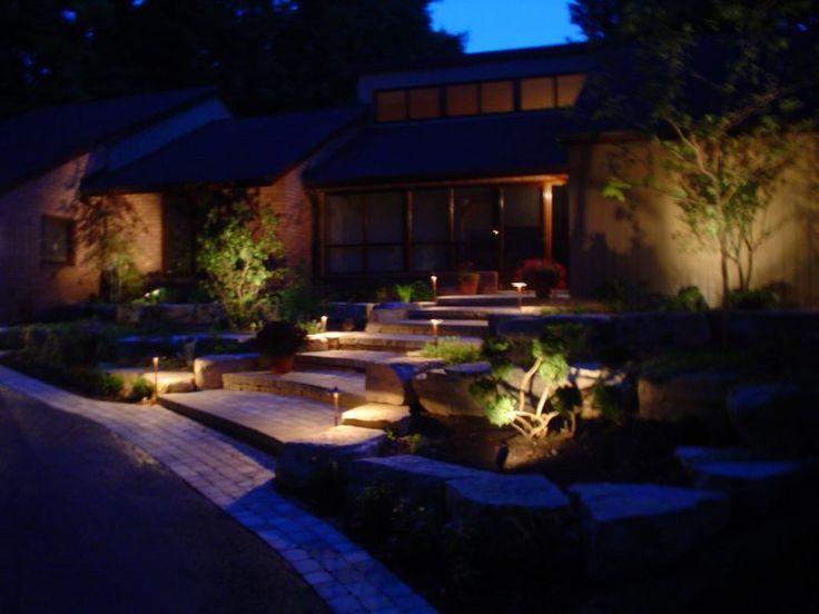 Backyard Paving Stone With Balcony Tile Also Spot Light And Artificial Grass Besides Deck Light  Garden Weathervane  Patio Slab  Garden Fence  Solar Motion Light     Organization Garden Lighting Suburban Area with Dazzling Impact