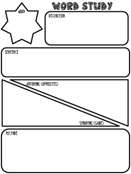 essay graphic organizers for kids