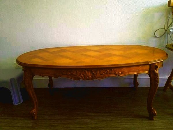 Table Basse En Merisier 7