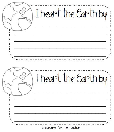 Earth Day Writing Prompts – FREE Printable