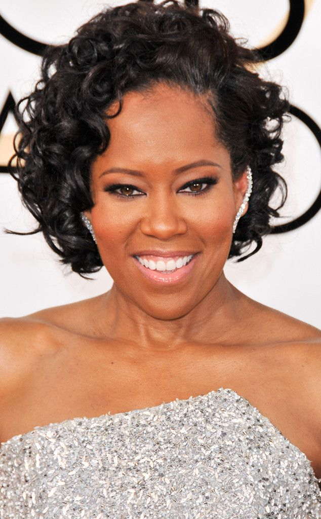 Regina King from 2017 Golden Globes' Best Beauty Looks  It was all about the eyes thanks to the actress' sharply lined makeup.