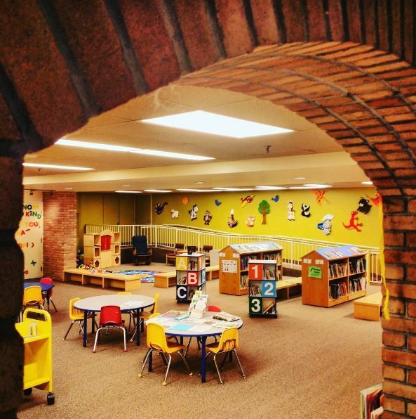 Children's section, at our Simcoe Branch