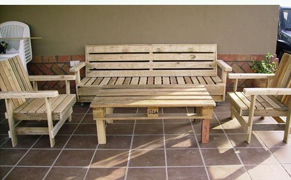 Ideas creativas para el reciclado de palets de madera - Reciclar palets para muebles ...