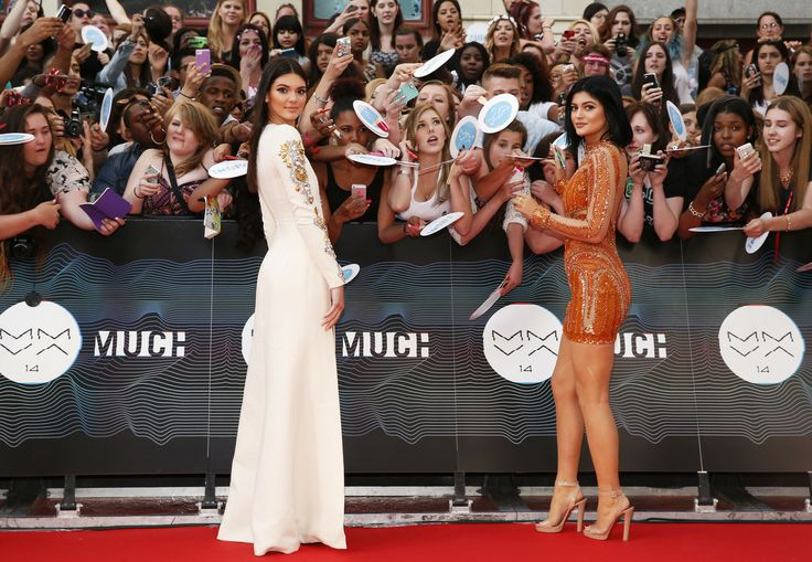 MMVA 2014 Red Carpet: Celebs Arrive For Much Music Video Awards -- Kendall and Kylie Jenner