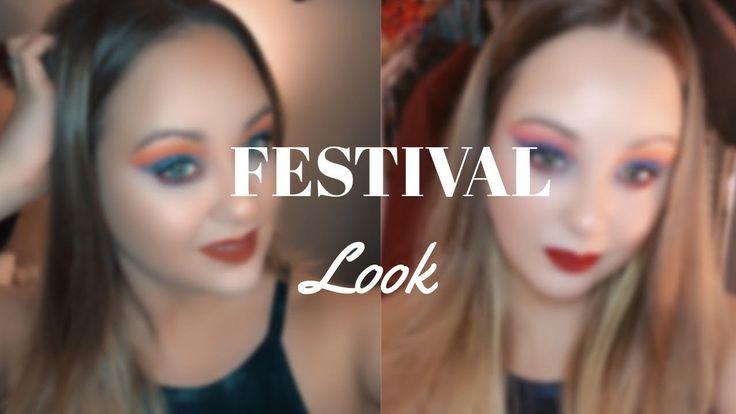 Festival Look - Quick + Fun Makeup - Morphe Palette ...