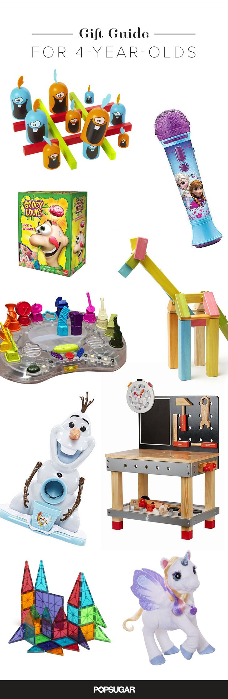 These fun finds — including arts and crafts projects, racing cars, and magnetic building tiles — are sure to be hits when your preschooler opens them!