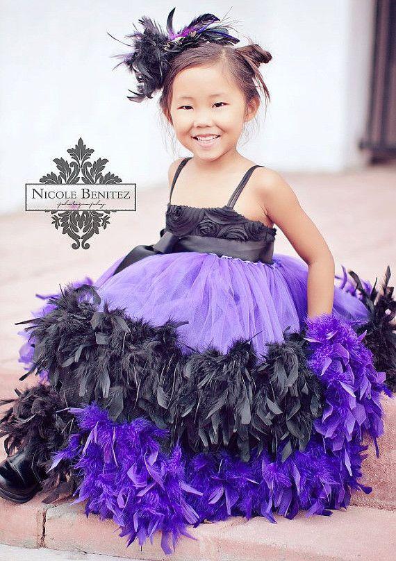 Masquerade Princess Classy Feather Dress | MelissaJane Boutique | Quality Children's Dresses