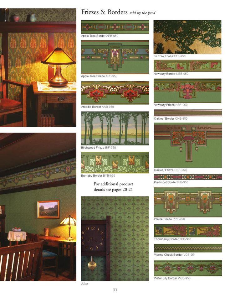 Arts And Crafts Lincrusta Wallpaper