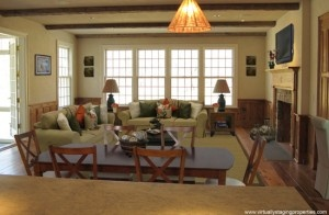 Virtual Staging of Keeping Room: Living Room, Photo