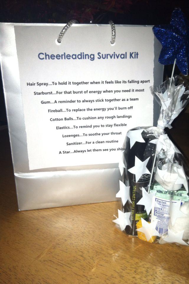 Cheerleader survival kit