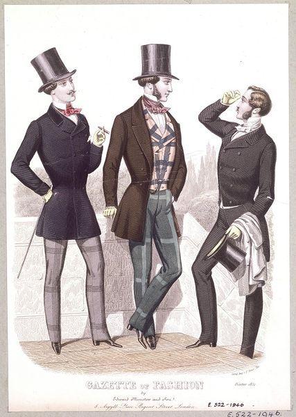 late victorian fashion men - photo #26