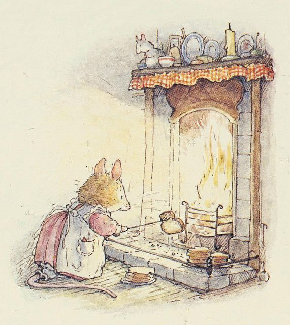 Toasty Toasting by Jill Barklem (Brambly Hedge)