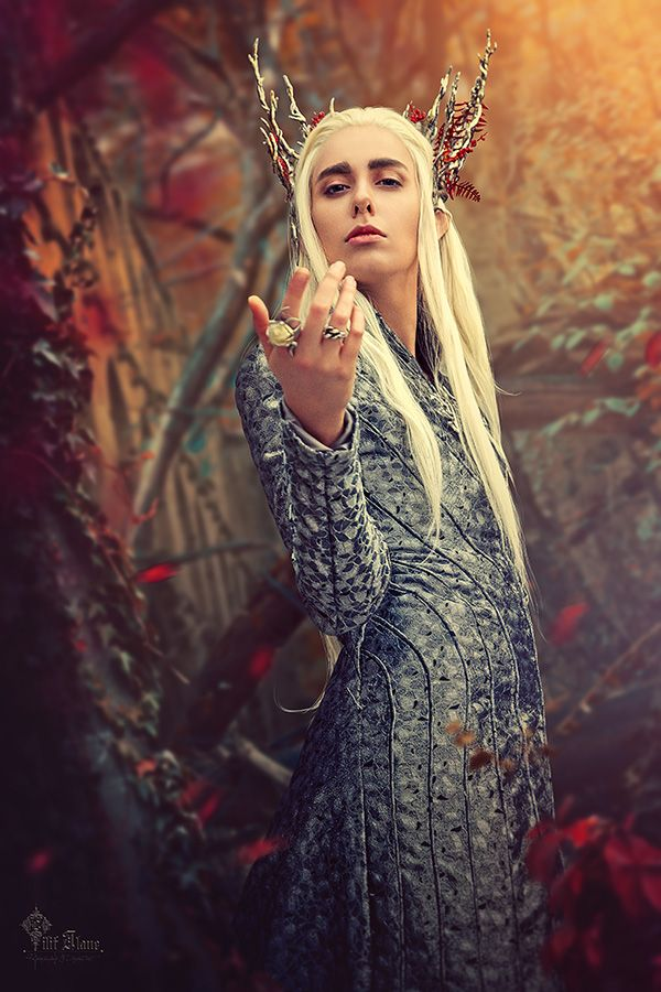 Thranduil cosplay by LilifIlane one of the most realistic (costume wise) cosplays I've seen!