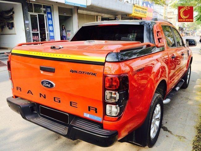 Nắp chụp thùng Ford Ranger 2014