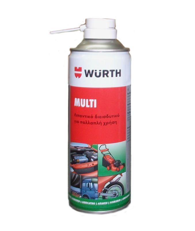 Σπρέι πολλαπλών λειτουργιών για διάφορες χρήσεις 400 ml της Würth