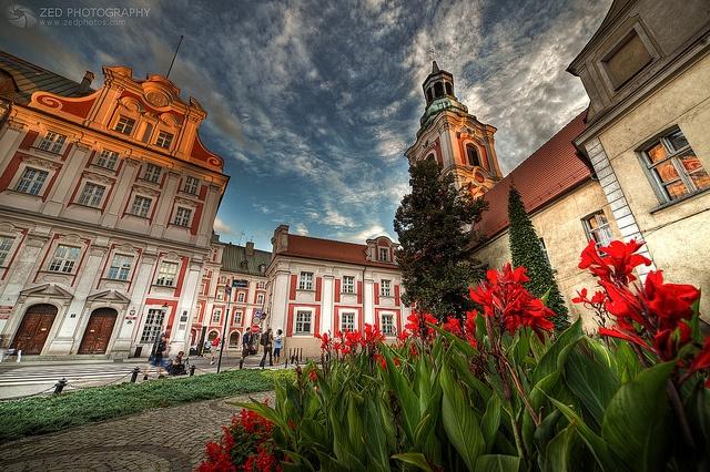 Poznan Poland, Plac Kolegacki, Fara Poznańska
