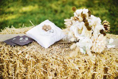 Bouquet de mariée Élégance rustique