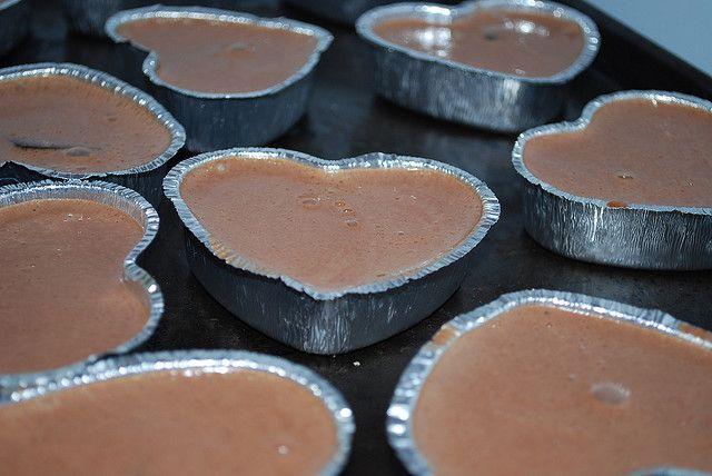 Mini Chocolate Cheescakes - 150 calories! @shrinkingjeans #chocolate #cheesecake #recipe