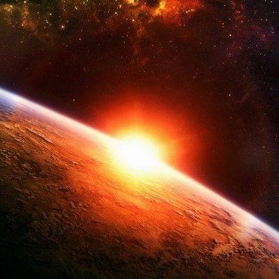Így néz ki a naplemente az űrből: lenyűgöző felvételek Töltsd le háttérképnek!