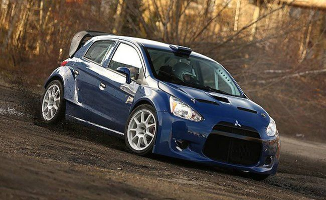 Mitsubishi Mirage WRC Prototype | 2015 World Rally Championship 2 | By Ralliart Sweden