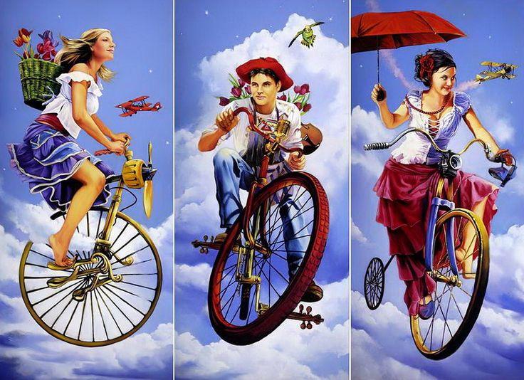 The Paintings of Tertia du Toit are Joyous!
