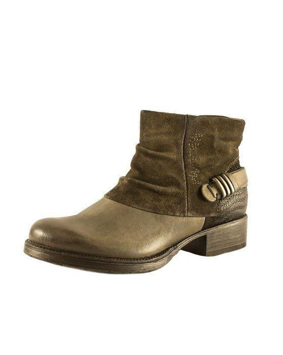 Martina Buraro Grey Boot