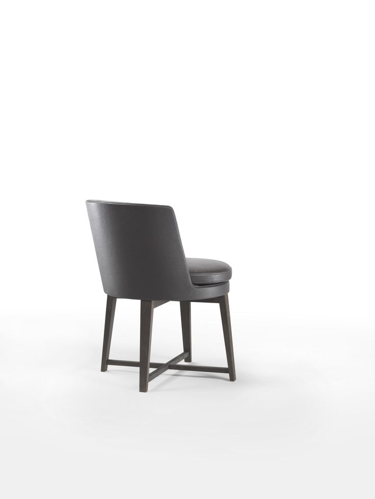 FLEXFORM FEEL GOOD Small Dining Armchair with wooden base. Designed by ANTONIO CITTERIO.