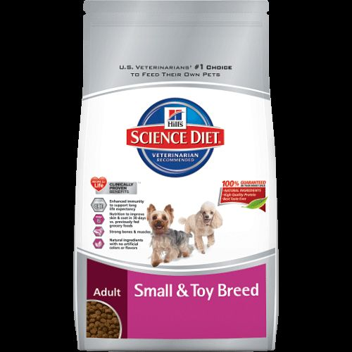 LIMITED RECALL: Science Diet Adult Small & Toy Breed™ dry dog food June 2014