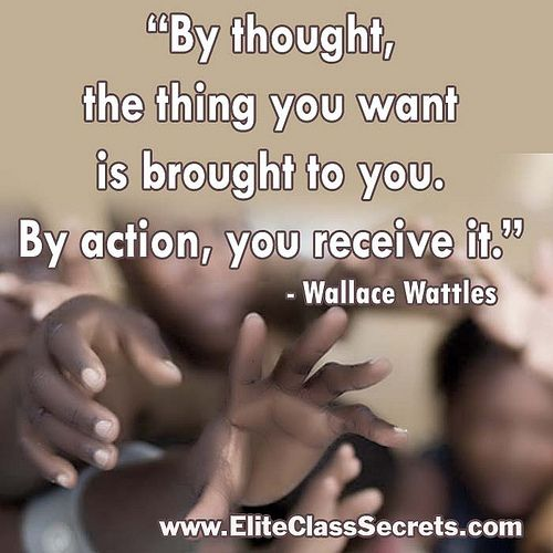 Success - Wallace Wattles Quote Re-pinned by http://Abundance4Me.net