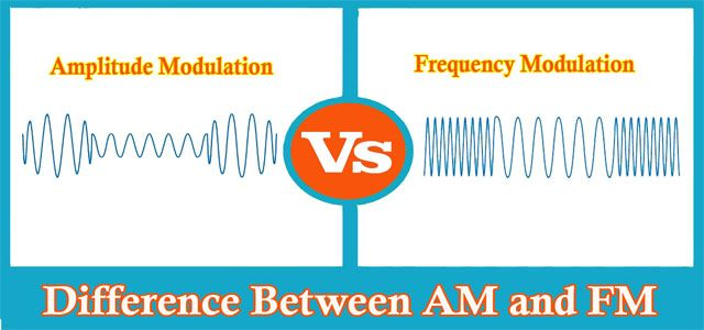 Amplitude Modulation vs Frequency Modulation│Difference Between AM and FM